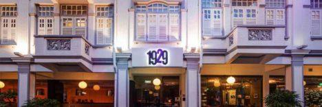 Hotel 1929 Singapore © Bmg Hotel 1929 Pte Ltd