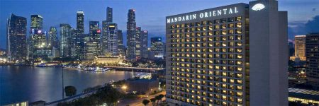 Hotel Mandarin Oriental Singapore © Mandarin Oriental Hotel Group Ltd