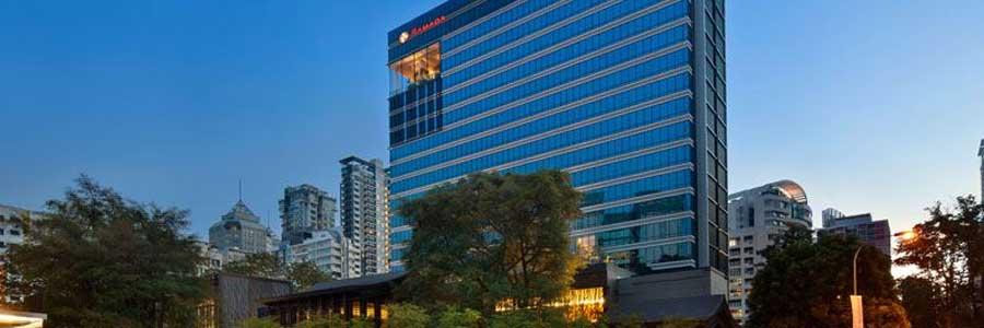 Hotel Ramada at Zhongshan Park Singapore © Wyndham Hotel Group Asia Pacific Co Ltd
