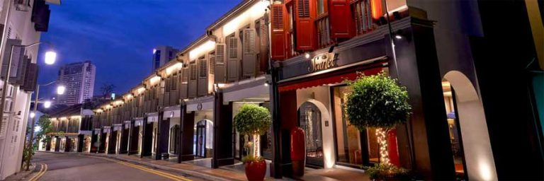 Hotel Scarlet Singapore © The Scarlet Singapore